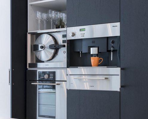 Keuken, inrichting, Miele, keukenapparatuur, stoomoven, koffie, leefbaarheid, modern, strak, BRANDRS,