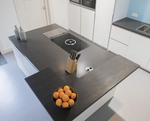 strakke moderne keuken stadshaege