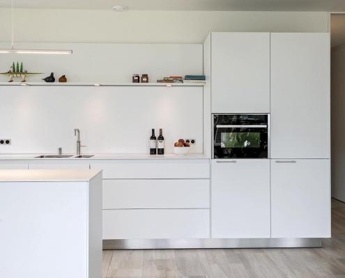 Lichte moderne keuken