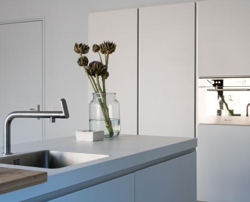 strakke lichte keuken