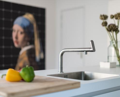 keuken kraan strak design